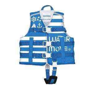 watermove watermoveマリン ライフベスト BLUEx白 L【スポーツ館】|ejapan