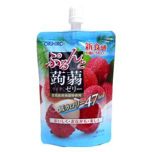 オリヒロ ぷるんと蒟蒻ゼリーSTライチ 130...の関連商品5