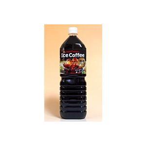 【キャッシュレス5%還元】ポッカサッポロ アイスコーヒーブラック無糖1.5Lペット【イージャパンモール】|ejapan