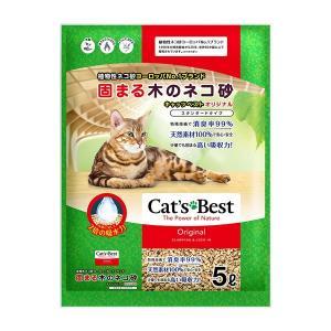 固まる木のネコ砂 キャッツベストオリジナル スタンダードタイプ 5L【イージャパンモール】|ejapan