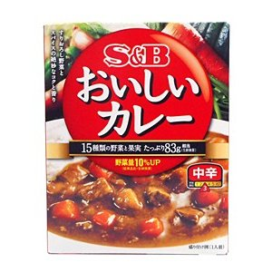 SBなっとくのおいしいカレー 中辛180g【イ...の関連商品5