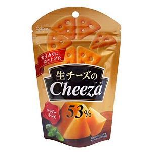【キャッシュレス5%還元】グリコ 生チーズのチーザ チェダーチーズ 40g【イージャパンモール】|ejapan