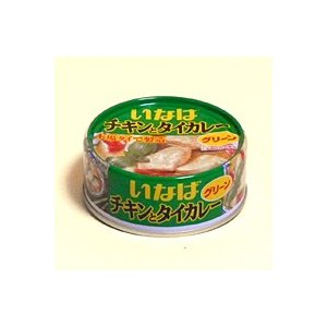 イナバ チキンとタイカレー グリーン 125g【イージャパンモール】|ejapan