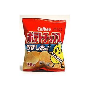 カルビー ポテトチップス うすしお味 28g【イージャパンモール】 ejapan