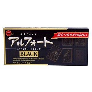 ブルボン アルフォートミニチョコレートブラック 12個【イージャパンモール】|ejapan