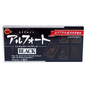 ブルボン アルフォートミニチョコレート ブラック 12個【イージャパンモール】|ejapan