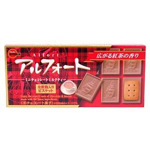 ブルボン アルフォートミニチョコレートミルクティー12個入【イージャパンモール】|ejapan