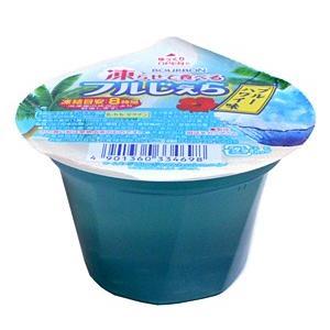 ブルボン 凍らせて食べるフルジェラブルーハワイ味105g【イージャパンモール】 ejapan