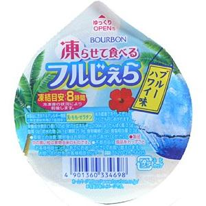 ブルボン 凍らせて食べるフルジェラブルーハワイ味105g【イージャパンモール】 ejapan 03