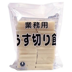 【キャッシュレス5%還元】ウサギモチ うす切り餅 1Kg【イージャパンモール】|ejapan