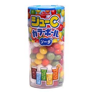 【キャッシュレス5%還元】カバヤ ジューCカラーボールソーダ【イージャパンモール】|ejapan
