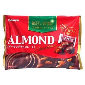 カバヤ食品 アーモンドチョコレート 148g【イージャパンモール】|ejapan