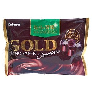 カバヤ食品 ゴールドチョコレート 183g【イージャパンモール】|ejapan