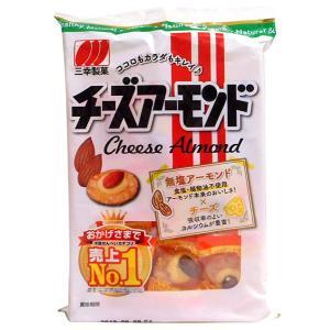 【キャッシュレス5%還元】三幸 チーズアーモンド16枚【イージャパンモール】|ejapan