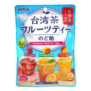 【キャッシュレス5%還元】扇雀飴 台湾茶フルーツティーのど飴80g【イージャパンモール】|ejapan