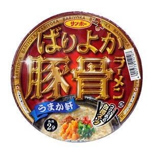【キャッシュレス5%還元】サンポー ばりよか豚骨ラーメン 79g【イージャパンモール】|ejapan