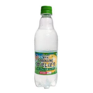 サントリー 天然水スパークリング贅沢しぼりグレープフルーツ500ml【イージャパンモール】|ejapan