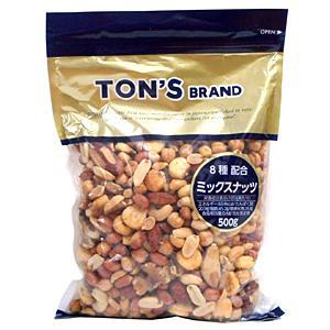 TON'S ミックスナッツ 500g【イージャパンモール】 ejapan
