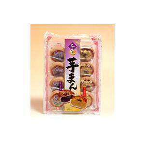 天恵製菓 二色芋まん 8個入【イージャパンモール】 ejapan