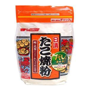 日清フーズ たこやき粉 500g【イージャパンモール】|ejapan