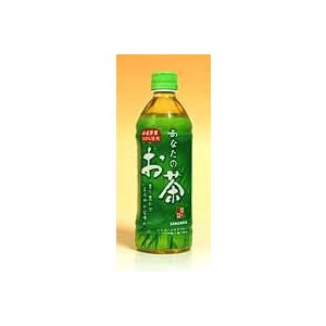 サンガリア あなたのお茶 500mlPET【イージャパンモール】|ejapan