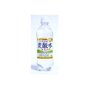 サンガリア 伊賀の天然水 炭酸水レモン 500ml PET【イージャパンモール】|ejapan