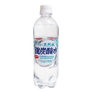サンガリア 伊賀の天然水強炭酸水500mlペット【イージャパンモール】|ejapan