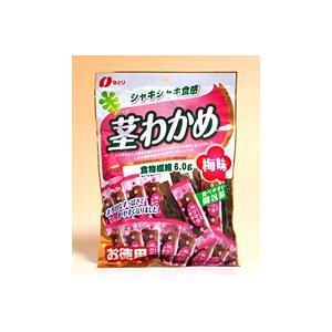 【キャッシュレス5%還元】なとり 茎わかめ梅味117g【イージャパンモール】 ejapan