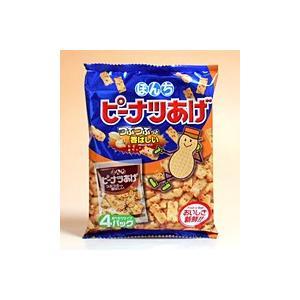【キャッシュレス5%還元】ぼんち ピーナッツ揚げ 4P 【イージャパンモール】|ejapan