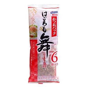 ハゴロモ かつおパック 2.5gx6P【イージャパンモール】|ejapan