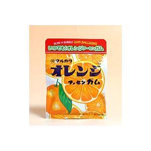 【キャッシュレス5%還元】丸川製菓 チャック袋オレンジフーセンガム 47g【イージャパンモール】|ejapan