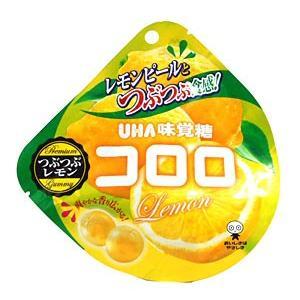 UHA味覚糖 コロロ つぶつぶレモン 40g【イージャパンモール】|ejapan