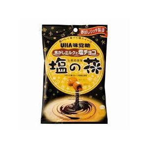 UHA味覚糖 塩の花焦がしミルクと塩チョコ 85g【イージャパンモール】|ejapan
