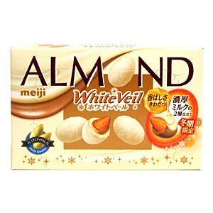明治 アーモンドチョコレートホワイトベール 59g【イージャパンモール】 ejapan