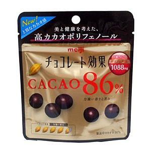 明治 チョコレート効果カカオ86%パウチ 37g【イージャパンモール】|ejapan