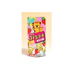 ロッテ コアラのマーチ いちご 48g【イージャパンモール】|ejapan