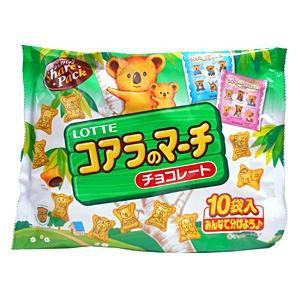 ロッテ コアラのマーチ シェアパック 12g×10袋【イージャパンモール】|ejapan