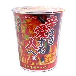 大黒 DAIKOKU激辛味噌ラーメン 58g【イージャパンモール】|ejapan