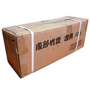 大和物産 成形竹炭 四角 10Kg【イージャパンモール】|ejapan
