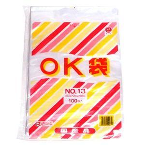 大倉工業 OK袋 No.13 0.03mmx260mmx380mm 100枚入り【イージャパンモール】|ejapan