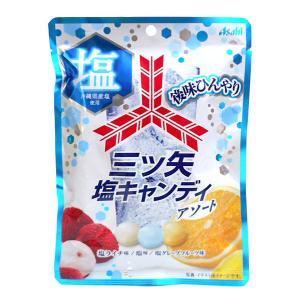【キャッシュレス5%還元】アサヒ 三ツ矢塩キャンディアソート80g【イージャパンモール】