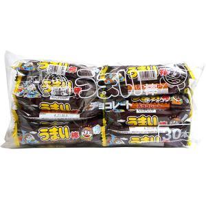 【キャッシュレス5%還元】うまい棒 チョコレート味 30本入【イージャパンモール】 ejapan