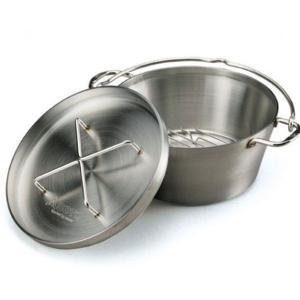 ステンレスダッチオーブン 8inch ST−908【イージャパンモール】|ejapan