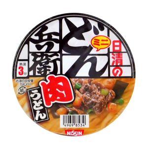 【キャッシュレス5%還元】日清食品(株) ミニどん兵衛 肉うどん 40g【イージャパンモール】|ejapan