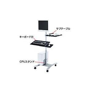サンワサプライ キーボード台、CPUスタンド付き液晶モニタスタンド CR-LAST3【代引不可】【パソコングッズ館】|ejapan