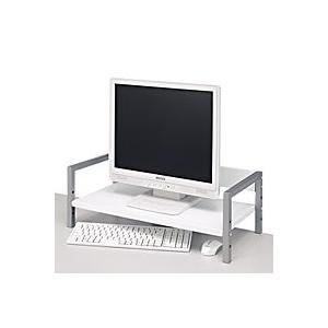 サンワサプライ 机上液晶モニタスタンド(ホワイト) MR-LC102WK【代引不可】【パソコングッズ館】|ejapan