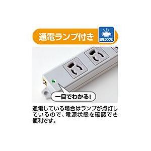 サンワサプライ 工事物件タップ(4個口・3m) TAP-K4-3【代引不可】【パソコングッズ館】|ejapan