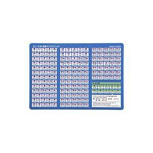ローマ字変換マウスパッド(A4サイズ) MPD-OP17RA4BL【代引不可】【パソコングッズ館】|ejapan