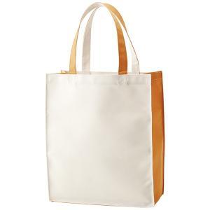 ライトカラートートバッグ オレンジ【代引不可】【同梱不可】【ノベルティ館】|ejapan
