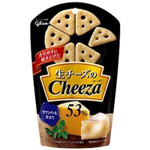 【キャッシュレス5%還元】★まとめ買い★ グリコ 生チーズのチーザカマンベールチーズ仕立て ×10個...